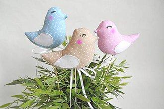 Dekorácie - Vtáčiky - 8711242_