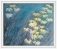 Obrazy - Žlté kvety echinacea - 8709743_
