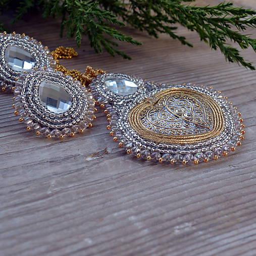Voyage en Arabie - White gold -  sada šperků