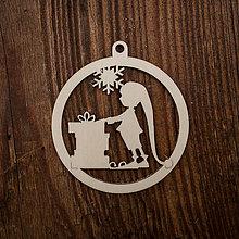 Dekorácie - Vianočná ozdoba - kruh 31 - 8711033_