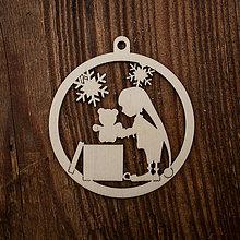 Dekorácie - Vianočná ozdoba - kruh 33 - 8711096_