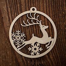 Dekorácie - Vianočná ozdoba - kruh 39 - 8711147_