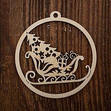 Dekorácie - Vianočná ozdoba - kruh 40 - 8711445_