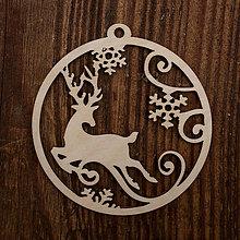 Dekorácie - Vianočná ozdoba - kruh 41 - 8711453_