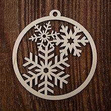 Dekorácie - Vianočná ozdoba - kruh 42 - 8711468_