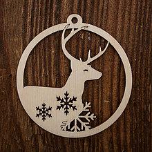 Dekorácie - Vianočná ozdoba - kruh 44 - 8711490_