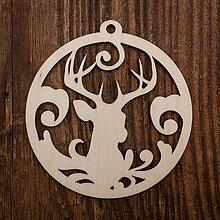 Dekorácie - Vianočná ozdoba - kruh45 - 8711506_