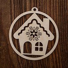 Dekorácie - Vianočná ozdoba - kruh 46 - 8711519_