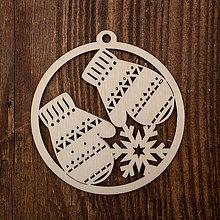 Dekorácie - Vianočná ozdoba - kruh 47 - 8711538_