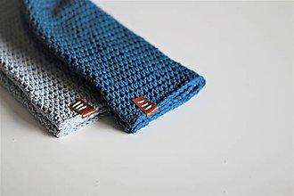 Doplnky - ...pánska čiapka oversize BLUE COTTON - 8712198_