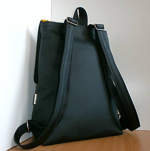 Batoh - Folk Black   desana - SAShE.sk - Handmade Batohy 3145f626791