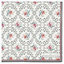 Papier - Servítka  G60-Daisy pale grey - 8710621_