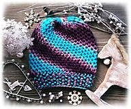 Čiapky - Čiapka - farbená vlna - 8713084_
