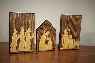 Dekorácie - Betlehem na dreve II. - 8710205_