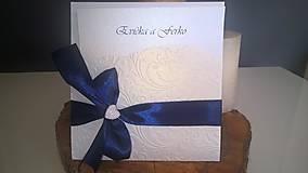 Papiernictvo - Svadobné oznámenie-Bride - 8711834_