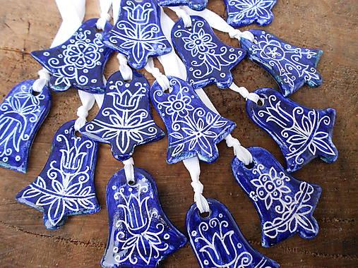 Dekorácie - Porcelánové vianočné ozdoby - 8711434_
