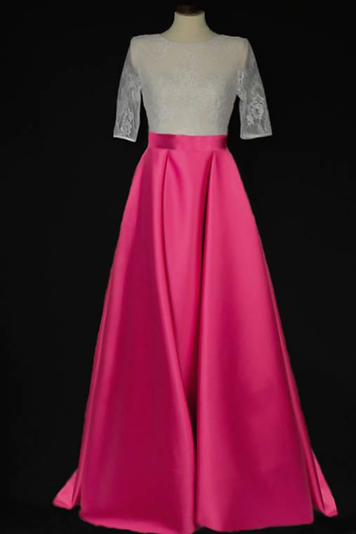 Spoločenská sukňa do A rôzne farby   Dyona - SAShE.sk - Handmade Sukne a754f1e8142