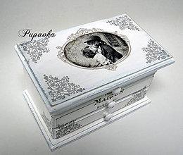 Krabičky - Zamilovaná šperkovnica - 8712803_