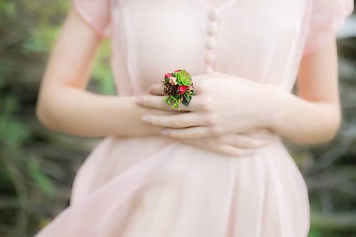 """Kvetinový prstienok """"v rozpuku"""""""