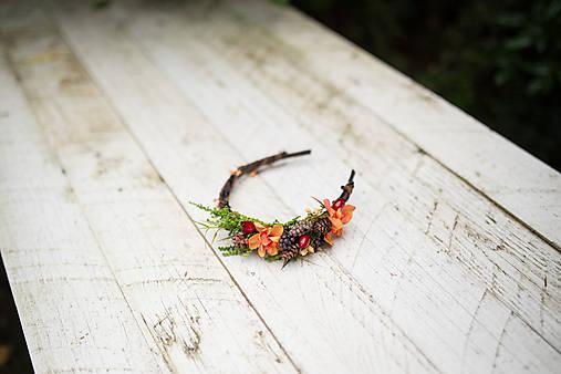"""Kvetinová čelenka """"volanie lesa"""""""