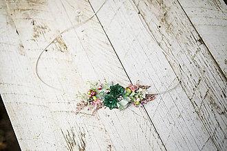 Opasky - Kvetinový opasok na šnúrke