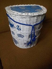 Košíky - Košík pre malého námorníka - 8712215_