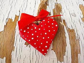 Dekorácie - Štedré Vianoce-motív na výber (srdce) - 8713988_