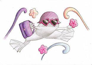 Kresby - Žaba nákupná maniačka - 8713153_