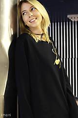 Mikiny - Dámska mikina čierna IO9 - 8713799_