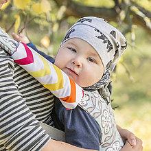 Detské doplnky - Slintáčiky na ergonomické nosiče - 8715621_