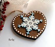 Vianočná ozdoba masív 4