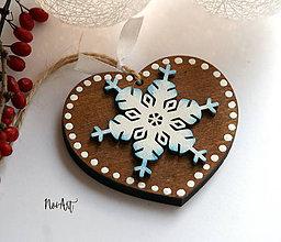 Dekorácie - Vianočná ozdoba masív 4 - 8718854_