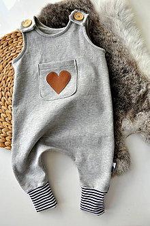 Detské oblečenie - Dupačky s vreckom - 8714952_