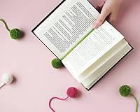 Návody a literatúra - Záložky s brmbolcami - tvorivý balíček s návodom - 8718733_