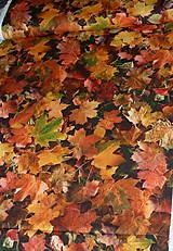 Textil - Látka Jesenné lístie - 8718759_