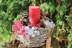 - Vianočný svietnik - 8714813_