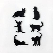 Magnetky - mačky - sada magnetiek (sada 2) - 8717975_