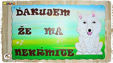 Tabuľky - Menovka - psík - 8718581_