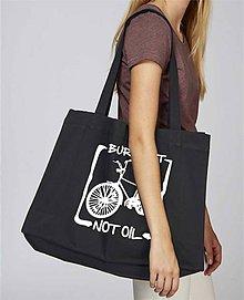 Nákupné tašky - Nákupná taška z recyklovanej bavlny - 8719631_