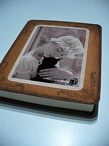 Krabičky - vintage krabička na fotografie a DVD - 8718948_
