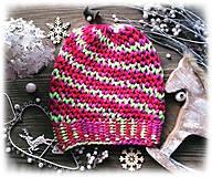 Čiapky - Čiapka - farbená vlna - 8715396_