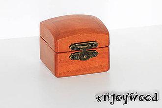 Krabičky - Krabička na snubný prsten - 8717632_