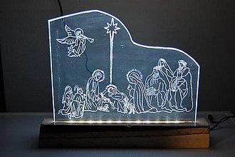 Dekorácie - Dekorácia - Svetelná - LED - Betlehem - 8714538_