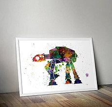 Grafika - AT-AT - Star Wars - 8714628_