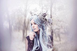 Ozdoby do vlasov - Zimný venček \