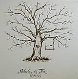 Obrazy - Svadobný strom podľa Vašich predstáv - 8715404_