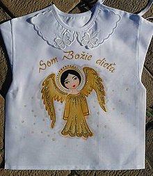 Detské doplnky - Košieľky na krst - 8716924_