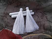 - Hodvábne strapce biele - pár - 8715913_