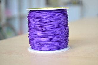 Galantéria - Šnúrka nylon indigo 0.8mm, 0.11€/meter - 8715453_