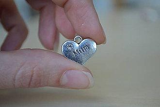 """Komponenty - Prívesok """"MUM"""", 0,60€/ks - 8715501_"""